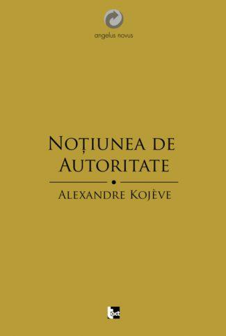 Noţiunea de Autoritate